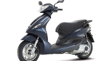 Piaggio Fly 50 4V (Black) full
