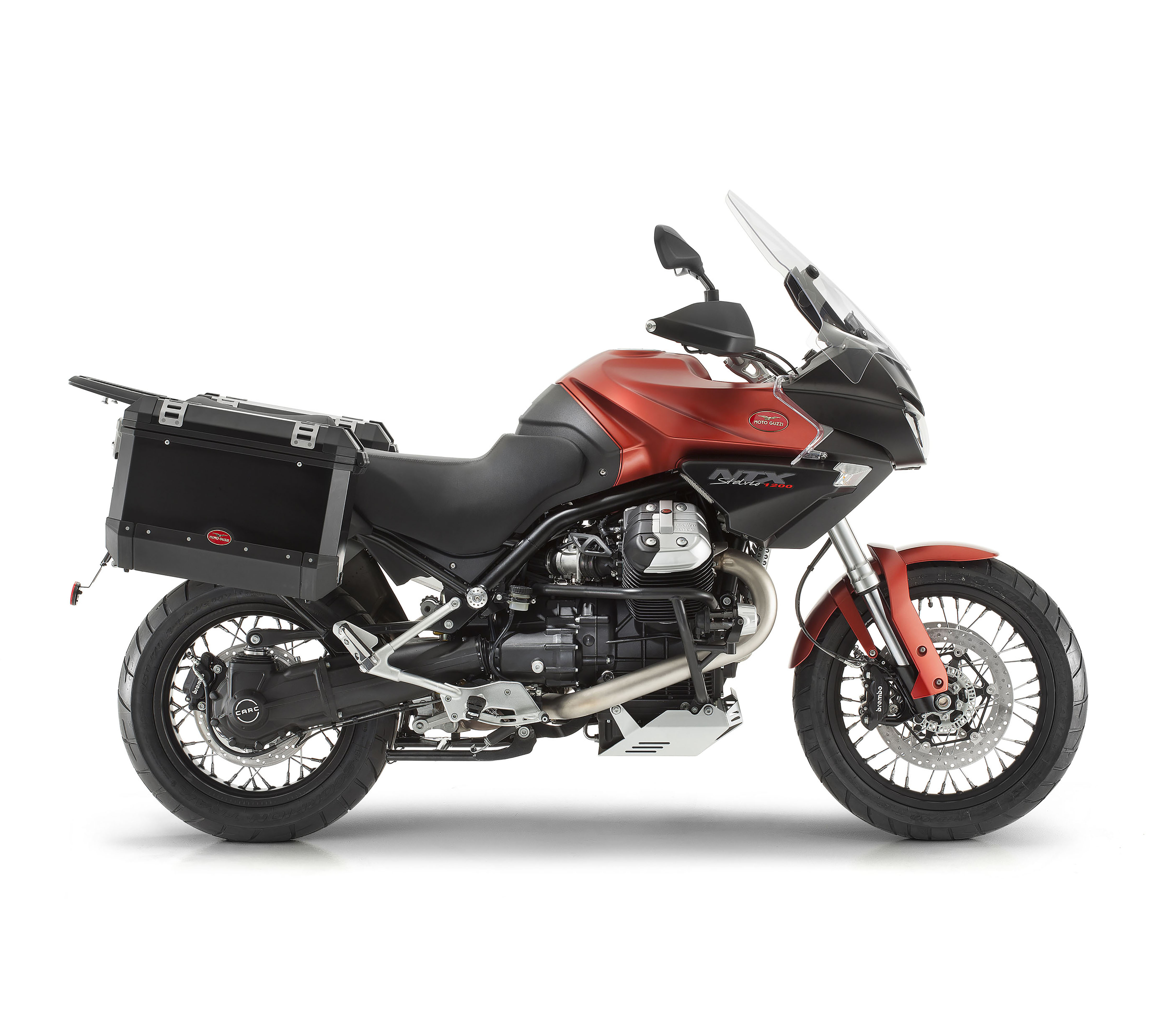 Moto Guzzi Stelvio NTX (Red) full
