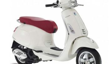 Vespa Primavera 150 ABS (White) full